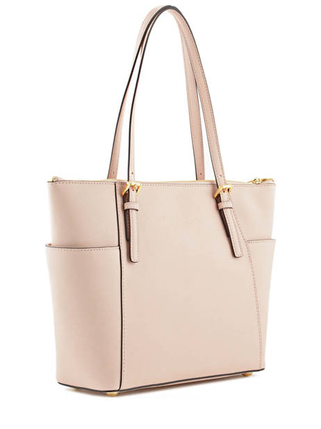 Cabas Jet Set Item Cuir Michael kors Rose jet set item F2GTTT8L vue secondaire 3