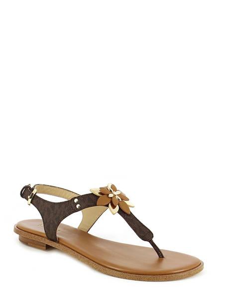 Sandales Michael kors Marron sandales / nu-pieds R7HEFA2B