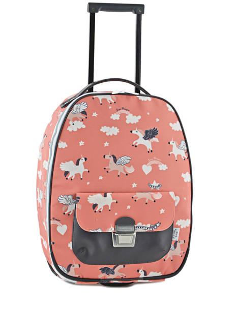 Valise Enfant Bagage Jeune premier Rose bagage T16