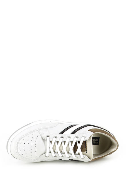 Sneakers Bull boxer Wit baskets mode 4866a ander zicht 4