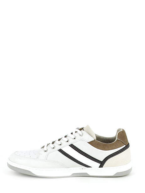 Sneakers Bull boxer Wit baskets mode 4866a ander zicht 2