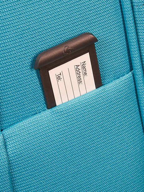 Valise Cabine Souple Samsonite Bleu dynamo 80D003 vue secondaire 3