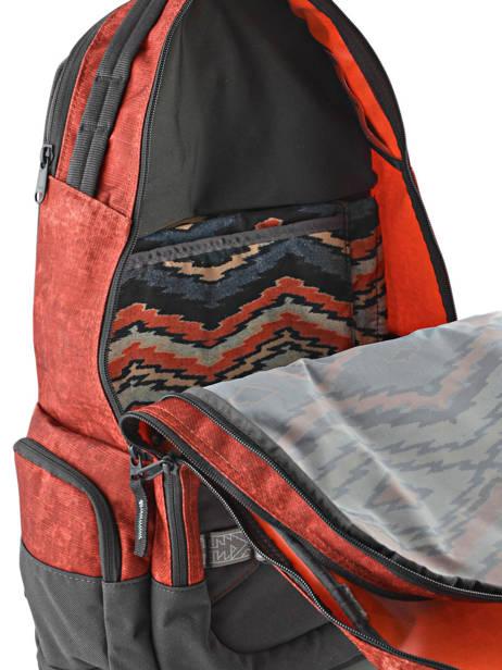 Sac à Dos 1 Compartiment + Pc 15'' Dakine Rouge snowpacks 1000-761 vue secondaire 5