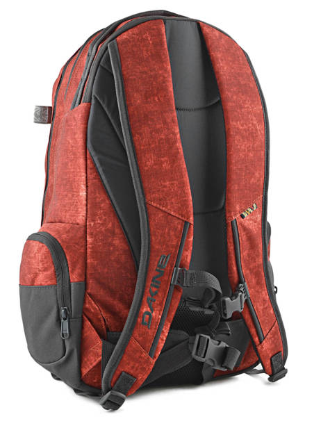 Sac à Dos 1 Compartiment + Pc 15'' Dakine Rouge snowpacks 1000-761 vue secondaire 4