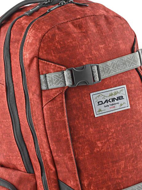 Sac à Dos 1 Compartiment + Pc 15'' Dakine Rouge snowpacks 1000-761 vue secondaire 1