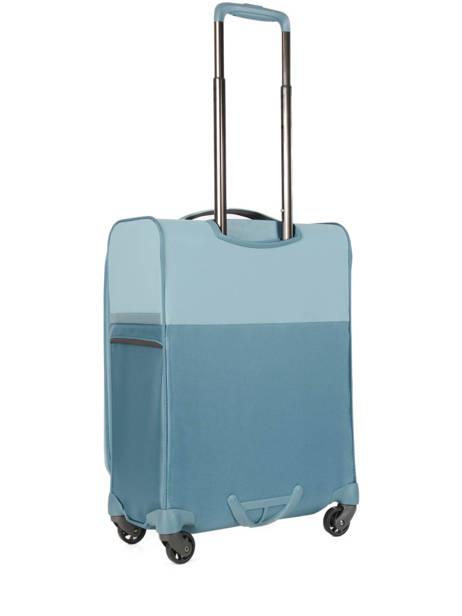 Valise Cabine Souple Samsonite Bleu uplite 99D004 vue secondaire 3