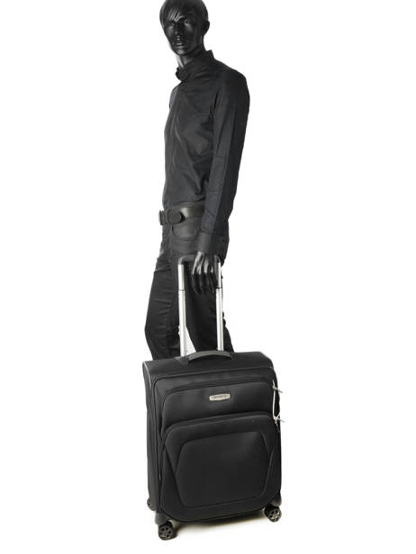 Handbagage Samsonite Zwart spark sng 65N006 ander zicht 2