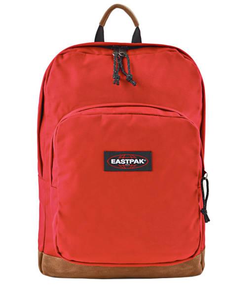 Sac à Dos Houston + Pc 14'' Eastpak Rouge pbg authentic PBGK46B