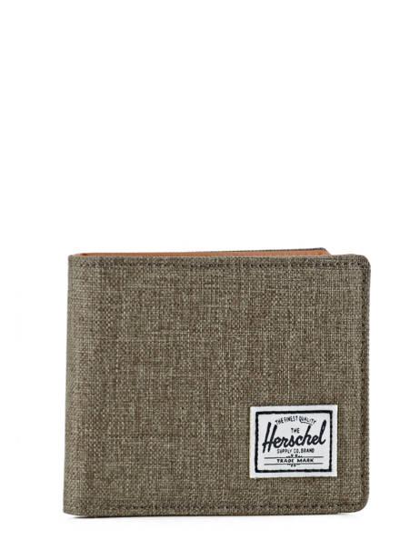 Portefeuille Herschel Gris classics 10369