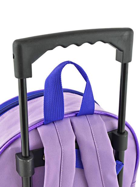 Rugzak Op Wieltjes Soy luna Veelkleurig purple line 4LUNA ander zicht 1