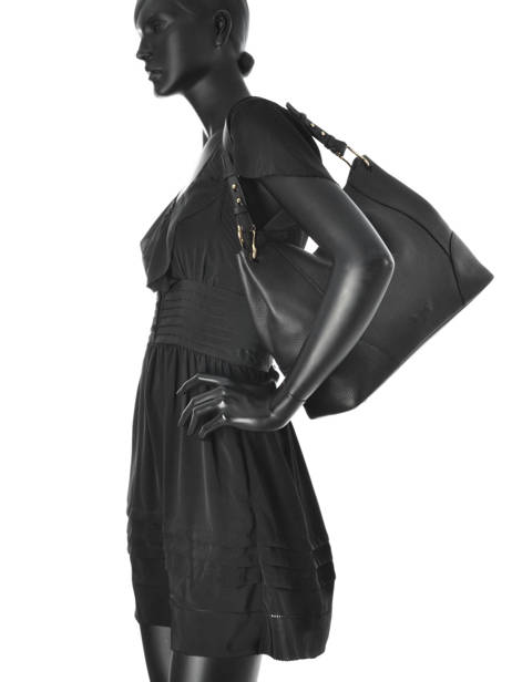 Schoudertas Victoria Tango Leder Nathan baume Zwart victoria N1720502 ander zicht 3