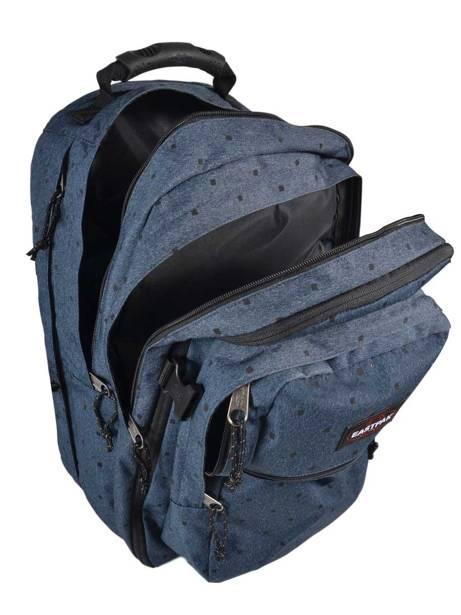 Sac à Dos 2 Compartiments + Pc 15'' Eastpak Bleu authentic K955 vue secondaire 4