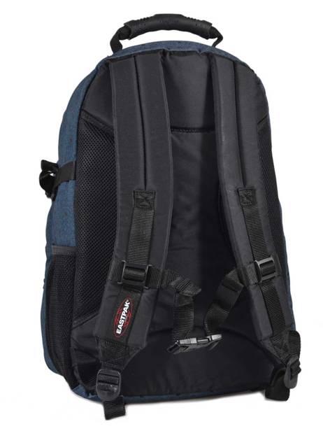 Sac à Dos 2 Compartiments + Pc 15'' Eastpak Bleu authentic K955 vue secondaire 3