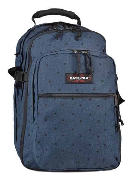 Sac à Dos 2 Compartiments + Pc 15'' Eastpak Bleu authentic K955