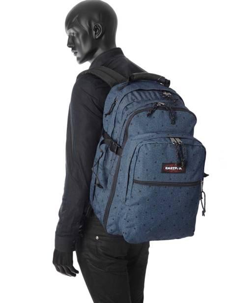 Sac à Dos 2 Compartiments + Pc 15'' Eastpak Bleu authentic K955 vue secondaire 2