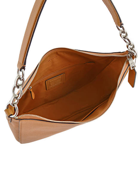 Besace Chelsea Hobo 32 Cuir Coach Marron casual 58036 vue secondaire 5