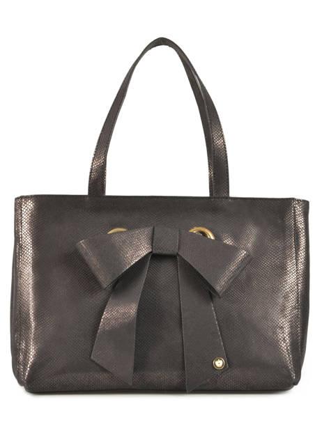 Sac Shopping Fashion La pomme de loveley Noir fashion LPF16-52