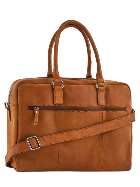 Porte-documents 1 Compartiment + Pc 17'' Burkely Marron on the move 518822 vue secondaire 3