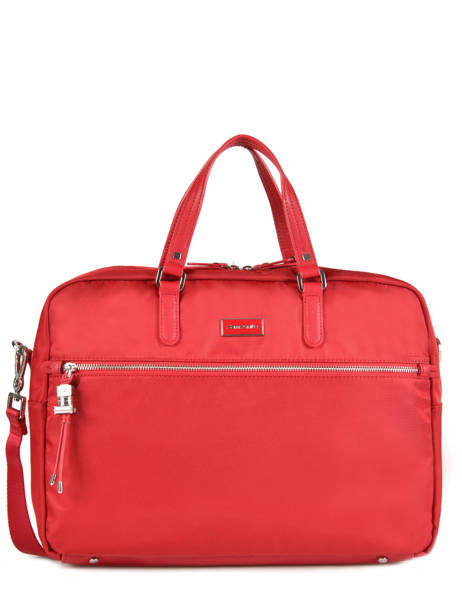 Documententas 2 Compartimenten + Pc 15'' Samsonite Rood karissa 60N005