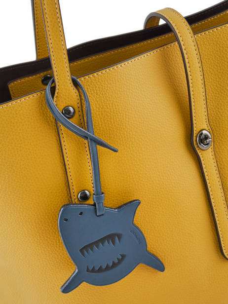 Bijoux De Sac Sharky Coach Bleu bag charms 21518 vue secondaire 2