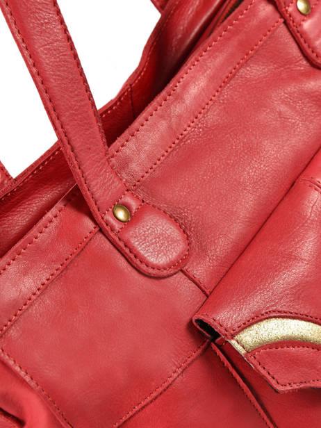Sac Shopping Imsa Cuir Pieces Rouge imsa 17087078 vue secondaire 1