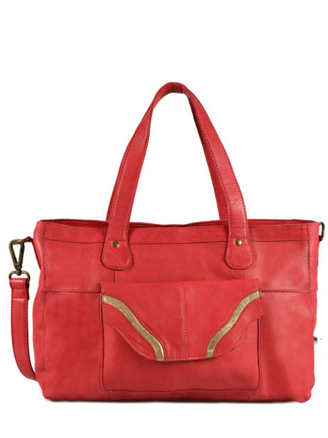 Sac Shopping Imsa Cuir Pieces Rouge imsa 17087078