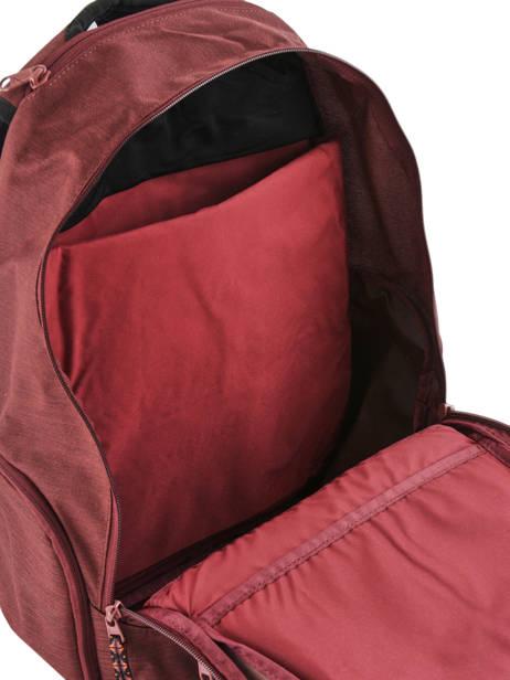 Rugzak 1 Compartiment + Pc 14'' Dakine Rood girl packs 8210-025 ander zicht 4