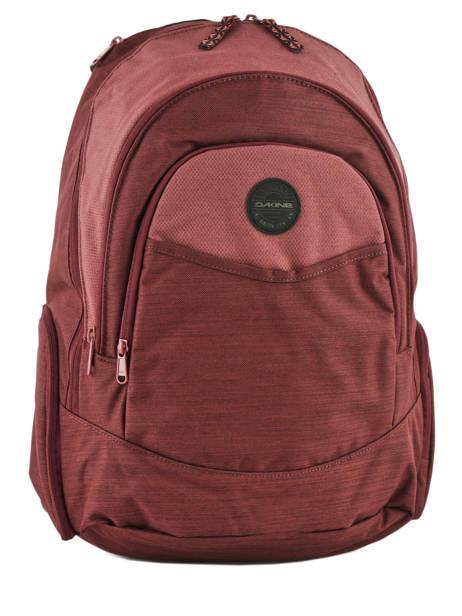 Sac à Dos 1 Compartiment + Pc 14'' Dakine Rouge girl packs 8210-025