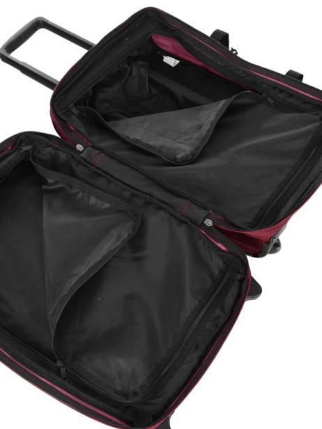 Valise Cabine Souple Eastpak Violet authentic luggage K61L vue secondaire 4