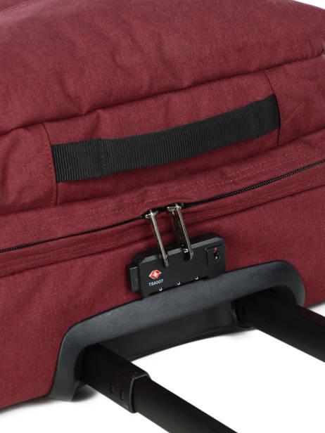 Valise Cabine Souple Eastpak Violet authentic luggage K61L vue secondaire 1