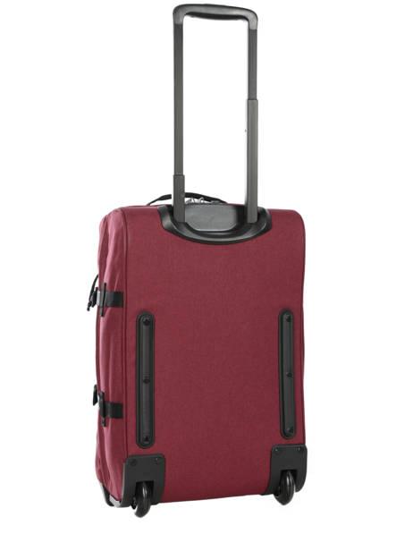 Valise Cabine Souple Eastpak Violet authentic luggage K61L vue secondaire 3