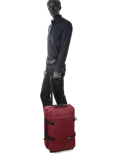Valise Cabine Souple Eastpak Violet authentic luggage K61L vue secondaire 2