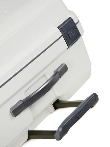 Valise Cabine Range Lock Travel Blanc range lock CDN20 vue secondaire 2