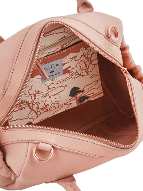 Sac Polochon Bubble Gum Nica Rose bubble gum NMH0006 vue secondaire 4