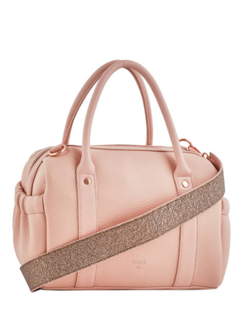 Sac Polochon Bubble Gum Nica Rose bubble gum NMH0006 vue secondaire 3