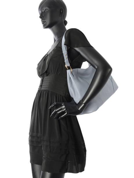 Sac Besace Victoria Cuir Nathan baume Bleu victoria N1720502 vue secondaire 3