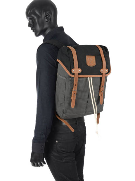 Sac à Dos 1 Compartiment + Pc 15'' Fjallraven Gris rucksack 24205 vue secondaire 2