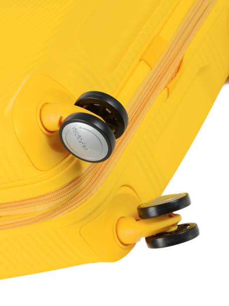 Handbagage American tourister Geel soundbox 32G001 ander zicht 2