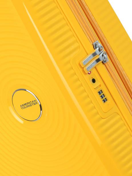 Handbagage American tourister Geel soundbox 32G001 ander zicht 1