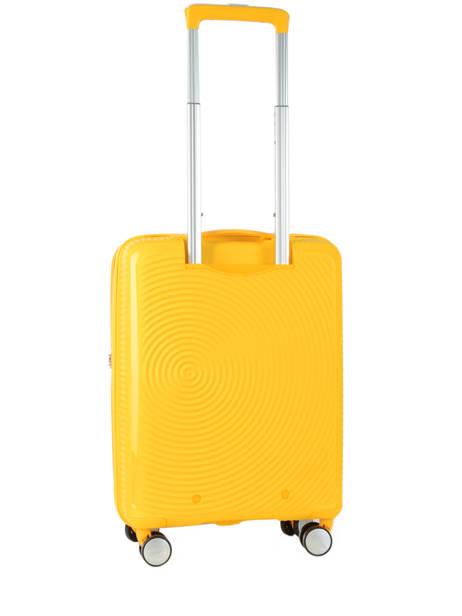 Handbagage American tourister Geel soundbox 32G001 ander zicht 4
