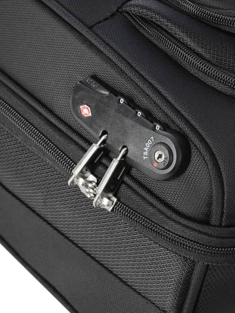 Handbagage Samsonite Zwart duosphere CC6002 ander zicht 2