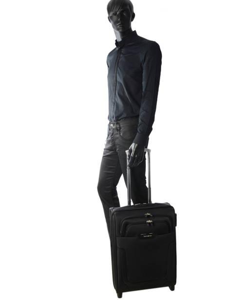Handbagage Samsonite Zwart duosphere CC6002 ander zicht 4