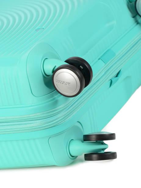 Valise Rigide Soundbox American tourister Bleu soundbox 32G002 vue secondaire 2