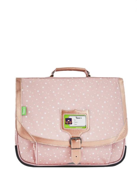 Cartable 2 Compartiments Tann's Blanc glitter nude 18-38283