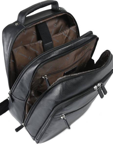 Business Rugzak Pc 13'' Hexagona Zwart confort 462539 ander zicht 3