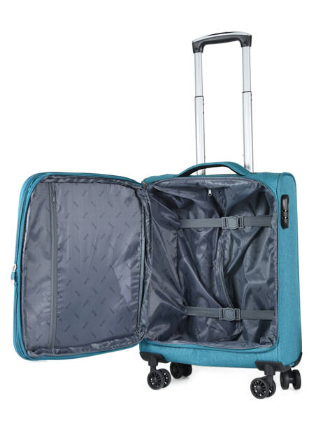 Valise Cabine Travel Bleu snow 12208-S vue secondaire 5