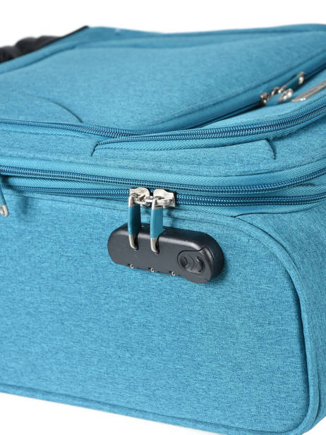 Valise Cabine Travel Bleu snow 12208-S vue secondaire 1