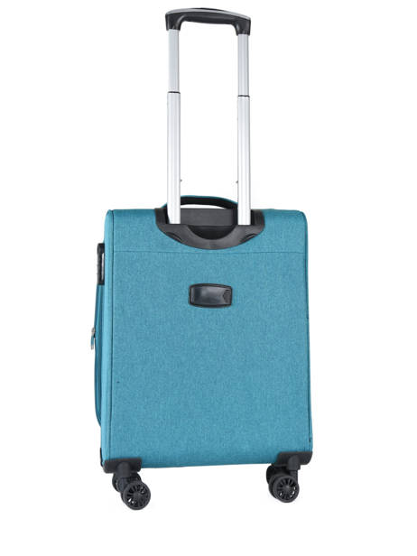 Valise Cabine Travel Bleu snow 12208-S vue secondaire 4
