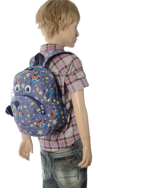 Sac A Dos Mini Kipling Bleu back to school 253 vue secondaire 2