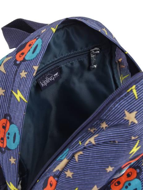 Sac A Dos Mini Kipling Bleu back to school 253 vue secondaire 4